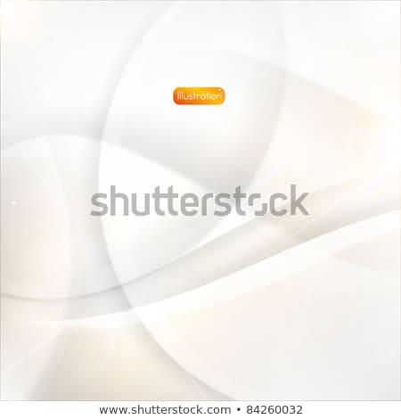 оранжевый · вектора · 3D · реалистичный · объект · свет - Сток-фото © nalinratphi