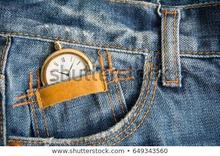 kleur · label · weefsel · vector · realistisch · kleding - stockfoto © nalinratphi