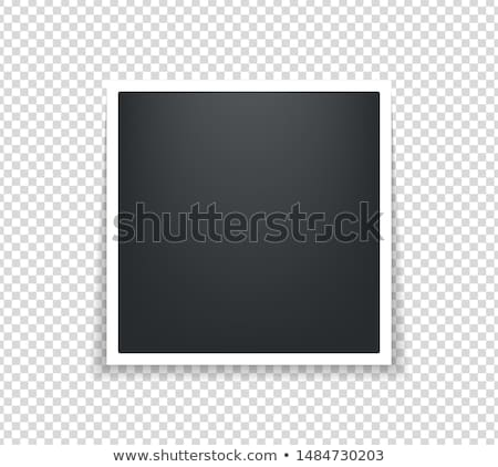 polaroid photos abstract background stock photo © saicle