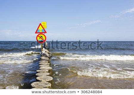 バルト海 · ポーランド · 空 · カバー · 雲 - ストックフォト © marekusz