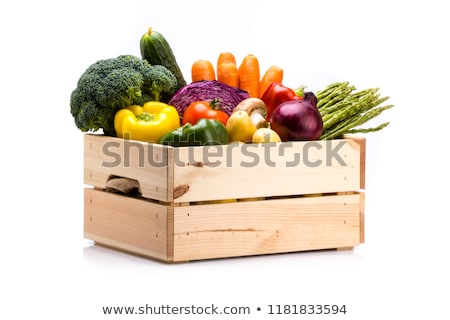 box with vegetables stock photo © zhekos