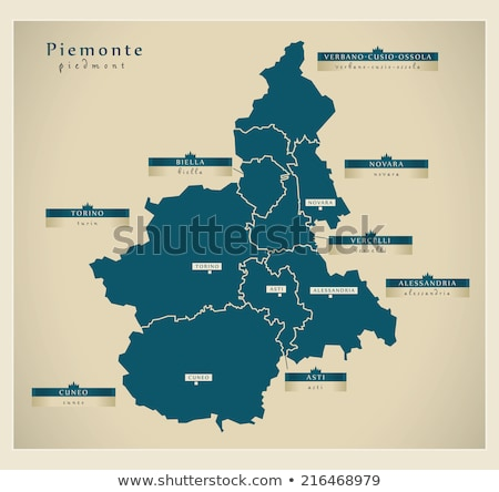 Map of Italy, Biella Stock photo © Istanbul2009