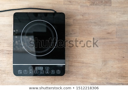 Top view of induction cooktop Stock photo © magraphics