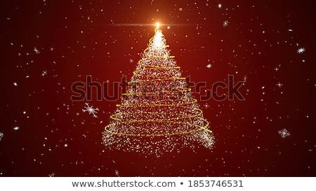 Christmas Snowflake 3D ożywienie czarny odizolowany Zdjęcia stock © klss