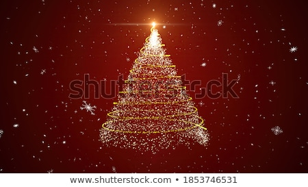christmas snowflake 3d animation stock photo © klss