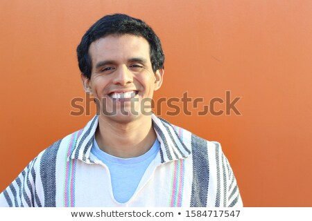 south american guy's laughter Stock photo © Giulio_Fornasar