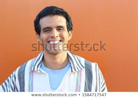Dél-amerikai srácok nevetés férfi nevet mosolyog Stock fotó © Giulio_Fornasar