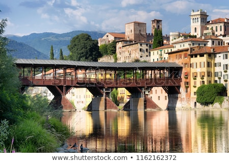 Bassano del Grappa Ponte Vecchio  Stock photo © LianeM