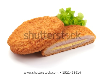 fried chicken, cordon bleu Stock photo © M-studio