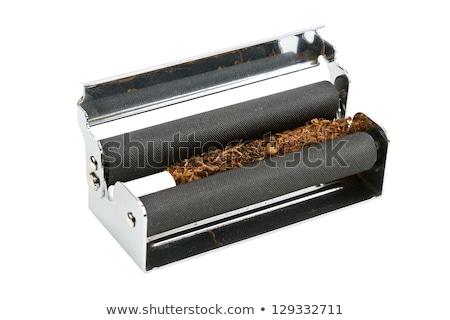 Tabacco macchina filtrare isolato bianco impianto Foto d'archivio © berczy04