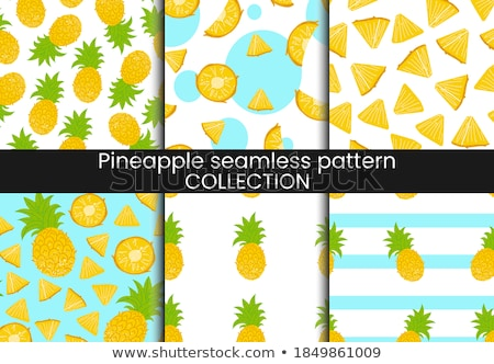 vintage · ananas · texture · style · nature - photo stock © ConceptCafe