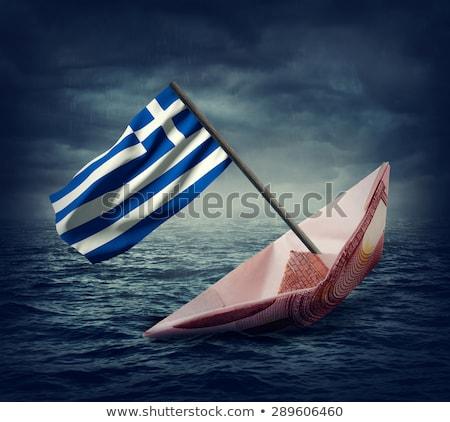 экономический кризис бизнесмен морем Сток-фото © alphaspirit