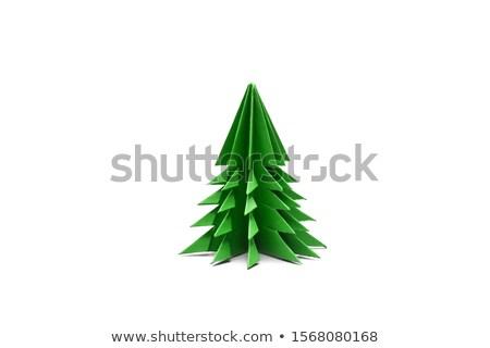 colección · Navidad · objetos · dibujado · a · mano · lápiz · acuarela - foto stock © valeriy