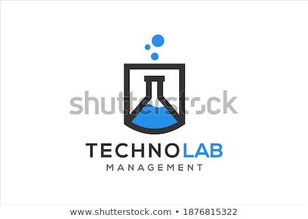 Biotecnología químicos laboratorio cristalería bio orgánico Foto stock © JanPietruszka