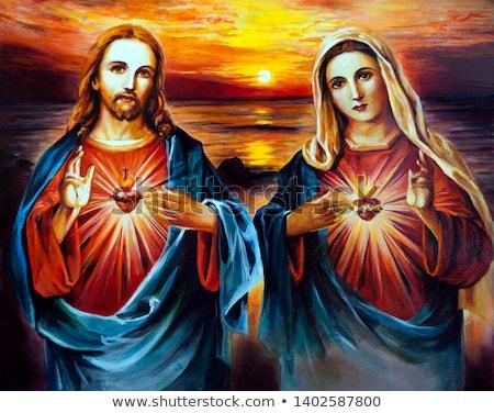 atravessar · coroa · religião · cristão · bom · ilustração - foto stock © krisdog