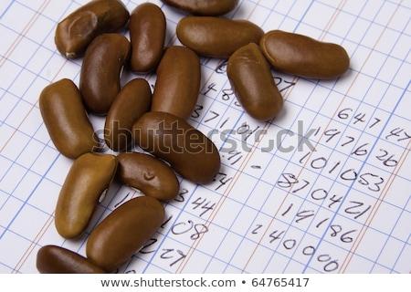 Contabili libro numeri bean counter Foto d'archivio © Qingwa