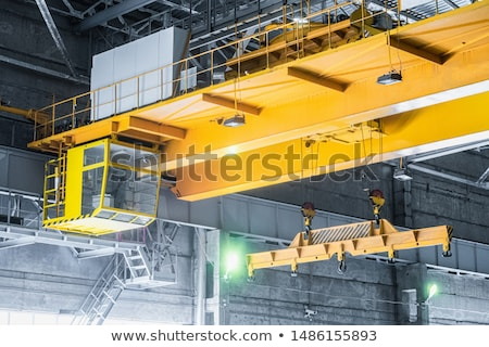 Crane and beam Stock photo © tracer