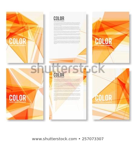 mappák · katalógus · színes · irat · közelkép · kilátás - stock fotó © tashatuvango