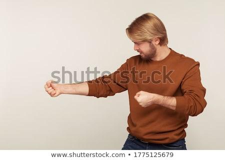 Businesswoman pretending to hold invisible object Stock photo © wavebreak_media