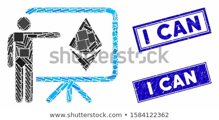Wykład pokładzie ikona wektora aplikacja web design Zdjęcia stock © ahasoft