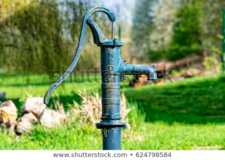 old fashioned water pump stock photo © mikdam