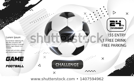 futbol · akademi · futbol · futbol · topu · alan · çim - stok fotoğraf © ikopylov