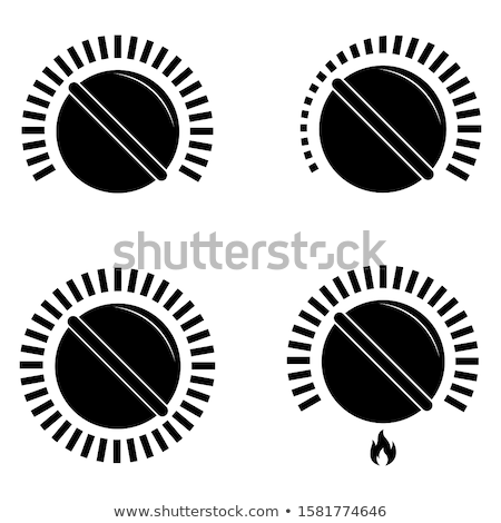 Cooker switches Stock photo © restyler