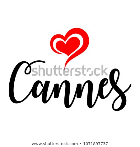 text travel to Europe in Cannes, France Stock photo © nito