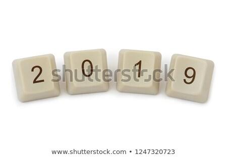 computer keyboard 2019 4 stock photo © oakozhan