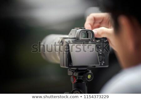 Fotografo professionali fotocamera fotografie celebrità Foto d'archivio © robuart