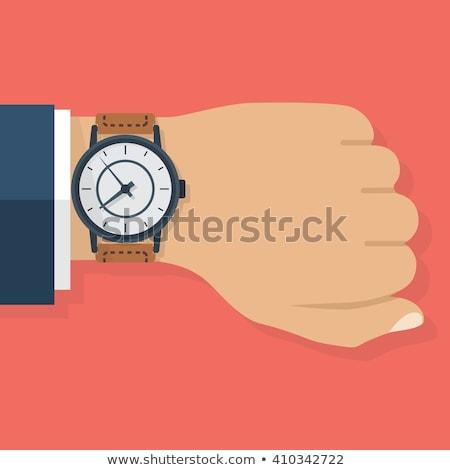 Hand watch illustration Stock photo © biv