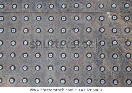 Anti-Slip Steel Surface Stock photo © brianguest