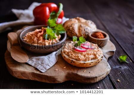 Traditional bavarian cheese dish Stock photo © BarbaraNeveu