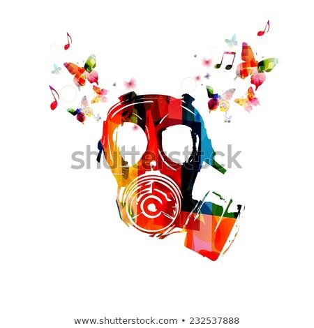giftig · gevaar · symbool · natuur · teken · dood - stockfoto © kariiika