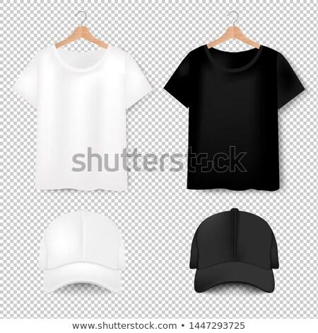 Elöl póló baseballsapka átlátszó gradiens háló Stock fotó © adamson