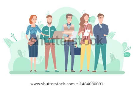 workers collaboration attraction capital vector stock photo © robuart