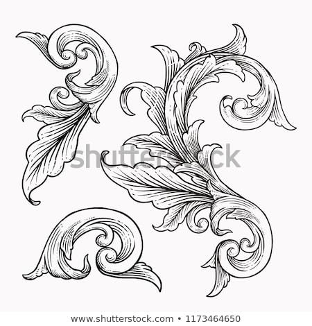 engraving decoration vintage tattoo element Stock photo © TRIKONA