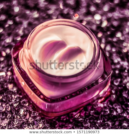 Luxury face cream for healthy skin on shiny glitter background,  Stock photo © Anneleven