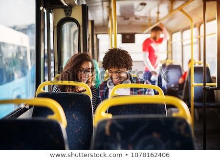 Passengers inside the bus Stock photo © jossdiim