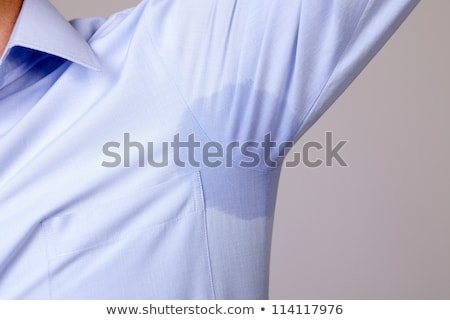 Man With Hyperhidrosis Sweating Very Badly Stock photo © AndreyPopov