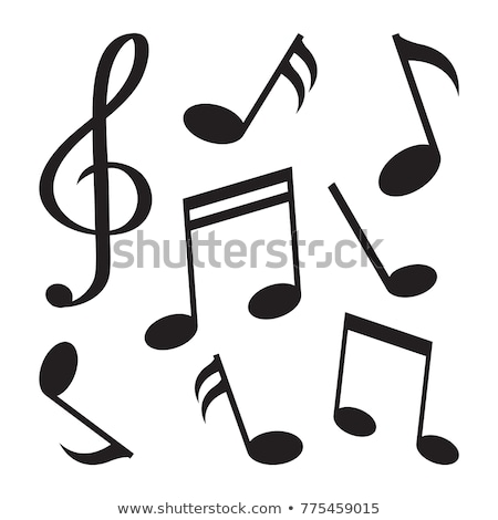 piano and musical notes melody background design Stock photo © SArts