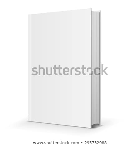 zárva · fekete · könyv · áll · árnyék · szürke - stock fotó © romvo
