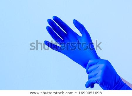 Artsen chirurgisch handschoenen medische Stockfoto © feverpitch
