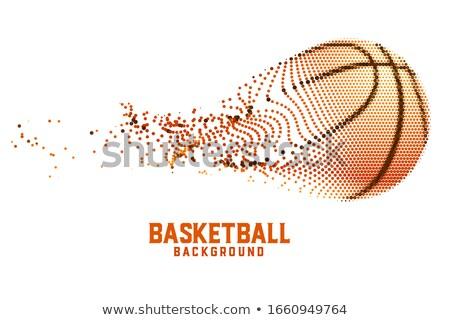 Criador basquetebol projeto abstrato partículas fundo Foto stock © SArts