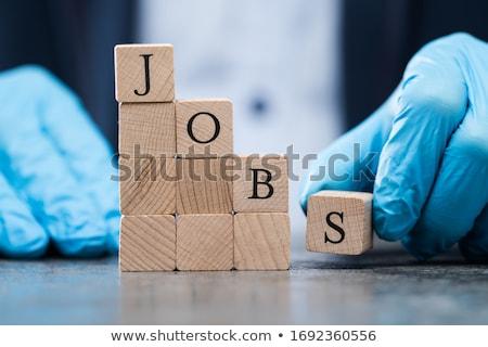 Trabalho econômico recessão coronavírus acidente negócio Foto stock © AndreyPopov