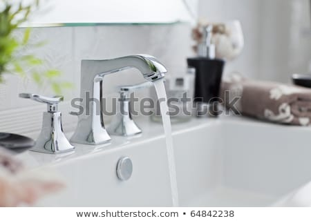 Plumber Plumbing Bathroom Sink Stock photo © AndreyPopov