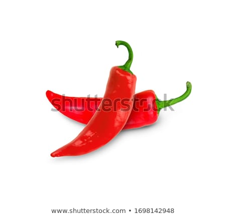 Green and red jalapeno peppers Stock photo © elxeneize