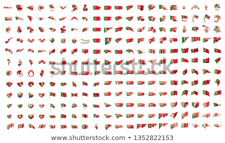 very big collection of vector flags of the Portugal Stock photo © butenkow