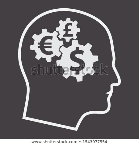 передач деньги человека Аватара профиль Сток-фото © supertrooper