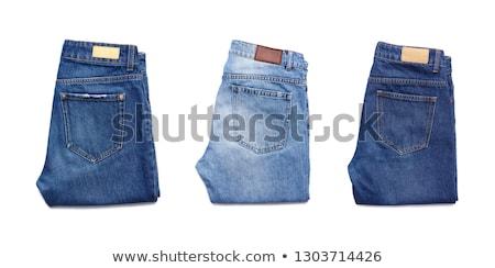 スタック · ジーンズ · ズボン · 青 · デニム - ストックフォト © taiga